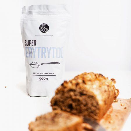 Natūralus cukraus pakaitalas, eritritolis, Diet Food Super Erytrytol (500g) | ifood.lt