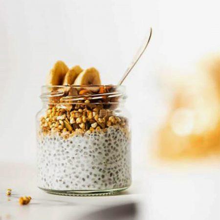 Ekologiška granola su riešutų baltymais, be cukraus, Diet Food Granola Peanut Protein (200g) | ifood.lt