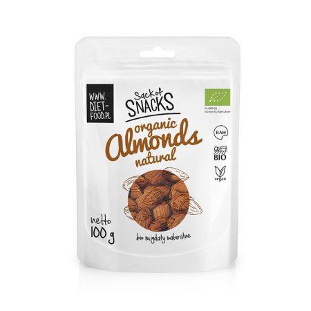 Ekologiški migdolai, Diet Food Almonds (100g) | ifood.lt