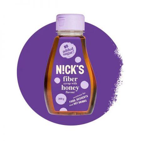 Sirupas be cukraus, medaus skonio, Nicks Fiber Honey (300g) | ifood.lt