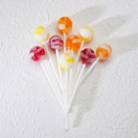 Vaisių skonio čiulpinukai, be cukraus ir glitimo, Sweet Switch Fruit Lollipops (100g) | ifood.lt