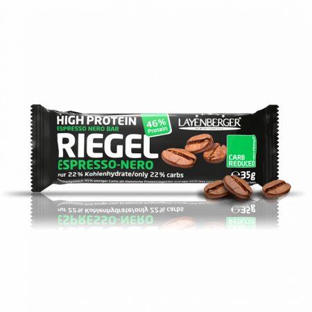 Kavos skonio baltyminis batonėlis be cukraus, Layenberger Riegel (35g) | ifood.lt