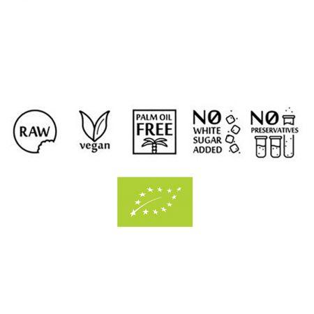 Ekologiška, RAW, veganiška, be palmių aliejaus, be pridėtinio cukraus, be konservantų | ifood.lt