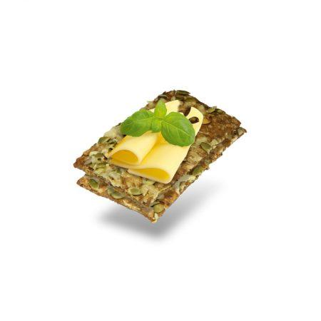 Traški duonelė su moliūgo sėklomis ir sūriu, Layenberger Knäcke (150g) | ifood.lt