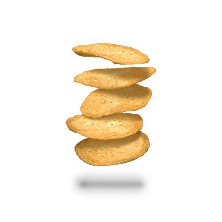 Grietinėlės ir svogūnų skonio traškučiai, Layenberger Chips (75g) | ifood.lt