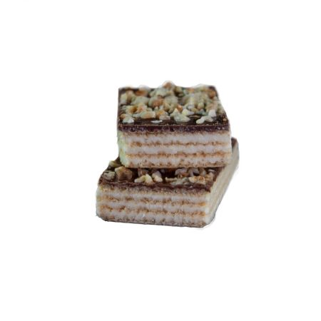 Vanilės skonio vaflinis baltyminis batonėlis be cukraus, Layenberger Waffel (40g) | ifood.lt