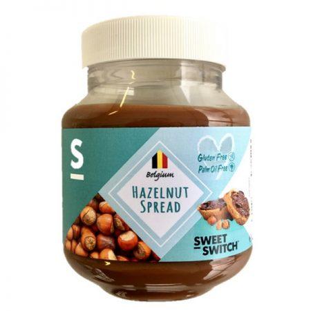 Lazdynų riešutų kremas, be cukraus ir glitimo, Sweet Switch Hazelnut Spread (350g) | ifood.lt