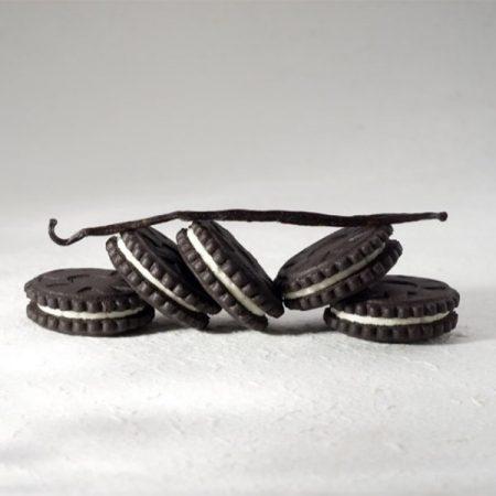 Biskvitiniai sausainiai, be cukraus ir glitimo, Sweet Switch Black & White (125g) | ifood.lt