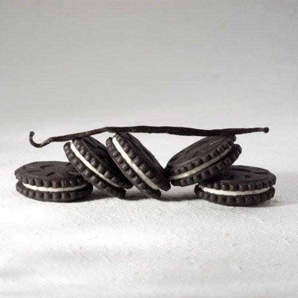 Biskvitiniai sausainiai, be cukraus ir glitimo, Sweet Switch Black & White (125g)   ifood.lt