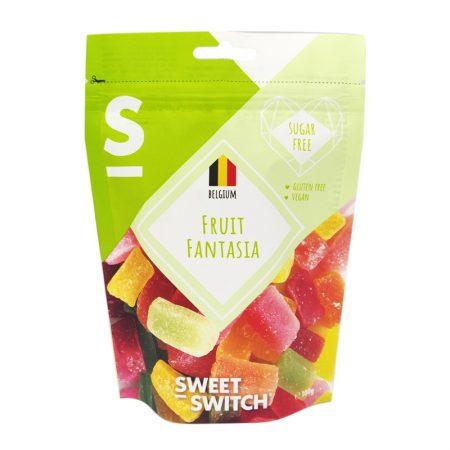 Vaisių skonio želė saldainiai, be cukraus ir glitimo, Sweet Switch Fruit Fantasia (100g) | ifood.lt