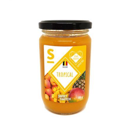 Tropinių vaisių džemas, be pridėtinio cukraus, Sweet Switch Tropical Spread (280g) | ifood.lt