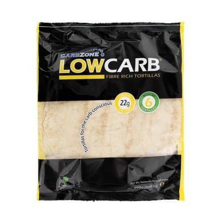 Tortilijos, didelės, Low carb (6vnt. x 65g) | ifood.lt